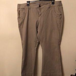 Maurices Khaki pants